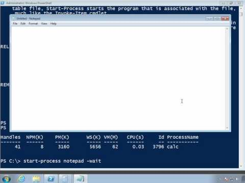 Launching Remote Process with PowerShell
