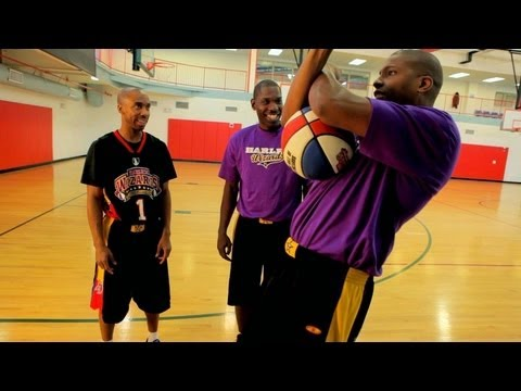 How to Play Basketball: Basketball Tricks / Bounce under the Knee