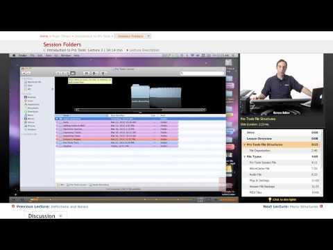 Pro Tools: Session Folders