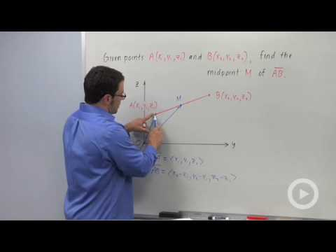 Precalculus - Introduction to the 3D Coordinate System