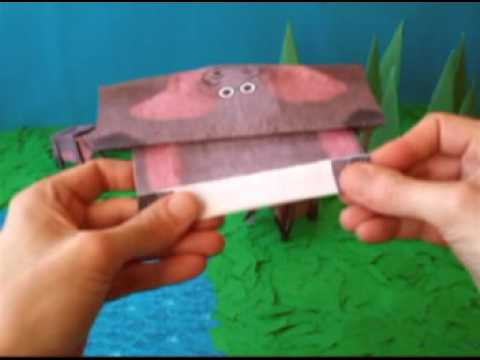 Origami Hippo