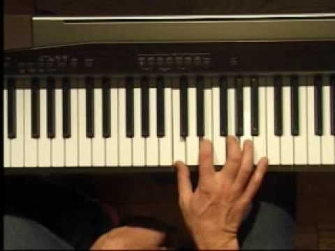 Piano Lesson - Three Note Chords in C (Right Hand)