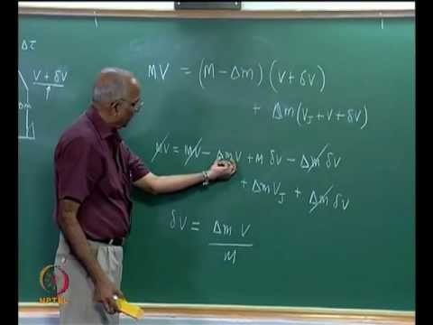 Mod-01 Lec-06 Rocket Equation and Staging of Rockets