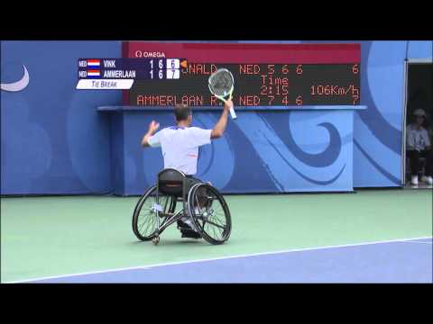 London 2012 - Wheelchair Tennis
