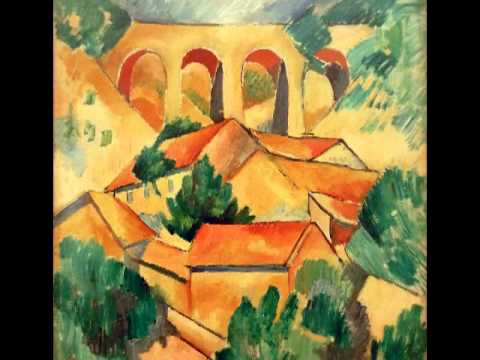 Braque, Le Viaduc à L'Estaque, (The Viaduct at L'Estaque), 1908