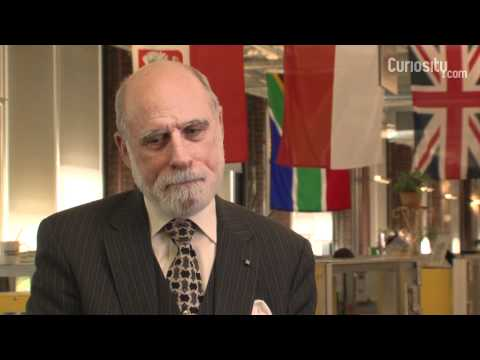 Vinton Cerf: What is surprising about the internet?