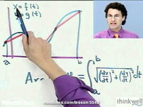 Calculus: Parametric Equations Curve Arc Lengths