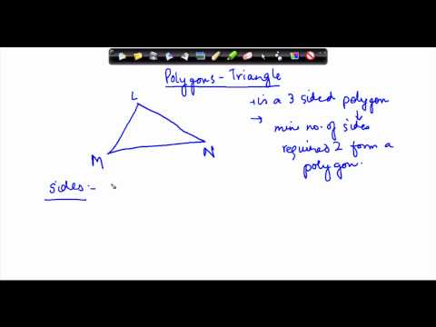 60. CBSE ICSE Class VI  Maths -   Geometry - Triangles