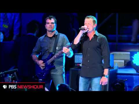 Three Doors Down Performs at Republican National Convention