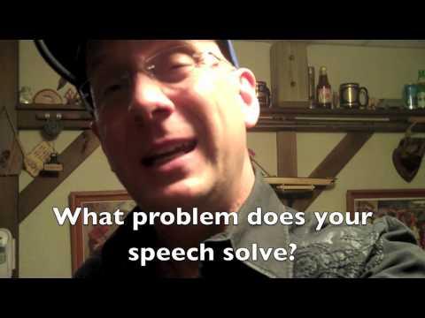 Public Speaking Tip #41 | Speech innovation?