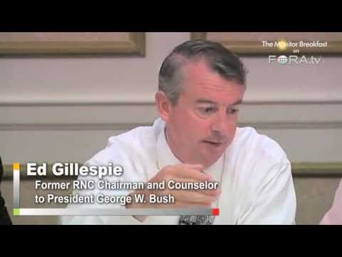 "Gillespie Calls Obama Approach to Economy ""Nails on a Chalkboard"" to Voters"