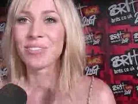 The Brit Awards - Natasha Bedingfield interview  - BBC America