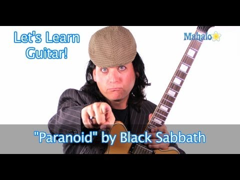 """Paranoid"" by Black Sabbath Practice Cover on Guitar"
