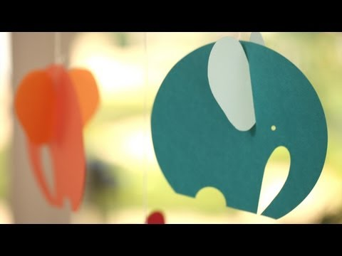 Elephant Mobile DIY: Make It Yourself || KIN PARENTS