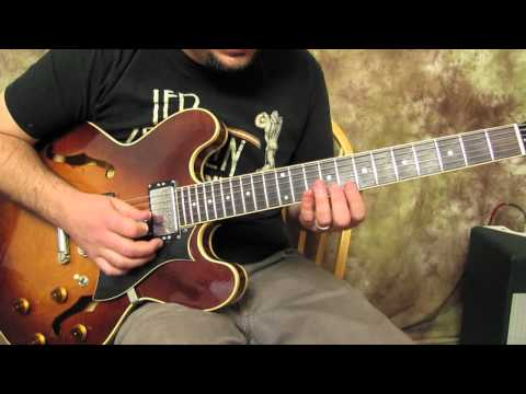 Rock Blues Lead Guitar Solo Lessons - Guitar Licks