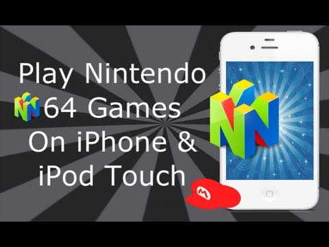 Play Nintendo 64  Games On iPhone 4S, 4, 3GS & iPod Touch (2012)