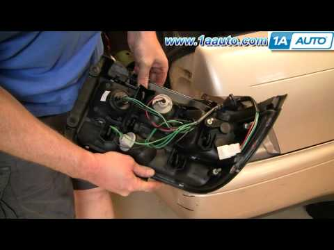 How To Install Replace Taillight and Bulb Toyota Corolla 93-97 1AAuto.com
