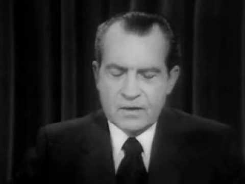 Nixon's Television Address On Vietnam