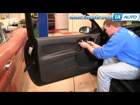 How To Install Repair Replace Broken Door Handle Ford Focus 00-04 1AAuto.com