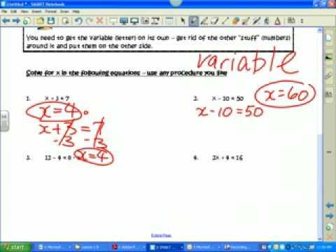 Lesson 1.8  intro to prealgebra
