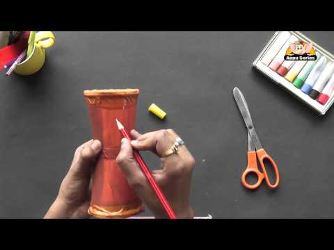 How to make a Damru - Arts & Crafts