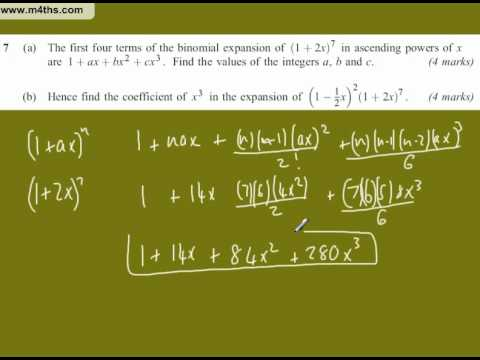 (Q7) AQA Core 2 January 2010 short answers only