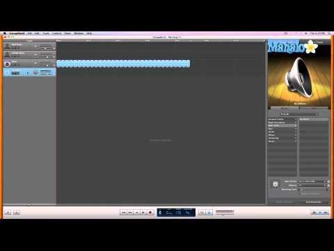 GarageBand Tutorial - Track Inputs