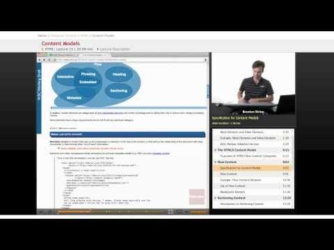 HTML: Content Models (Flow Content)