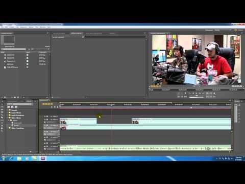 Adobe Premiere Pro Tutorial - 11 - Clipping Video Tracks