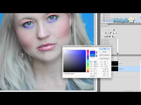 Adding and Modifying Make-Up - Photoshop Tutorial