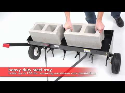 Brinly 40 Inch Plug Aerator - The Home Depot