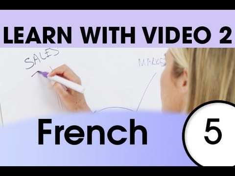 Learn French with Video - Top 20 French Verbs 3