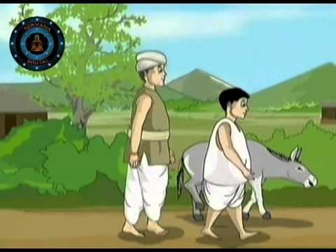 The Washer Man'S Donkey In Tales of Panchafantra vol 01 Hindi