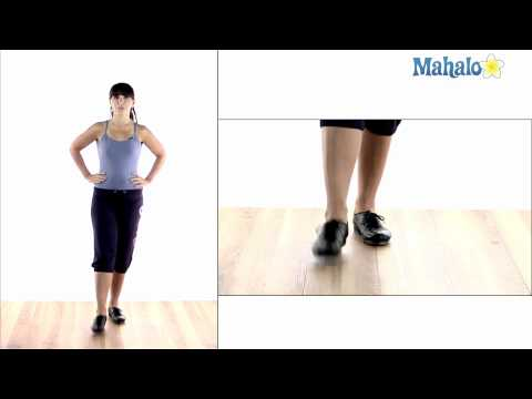 How to Tap Dance: Toe Tap Warm Up