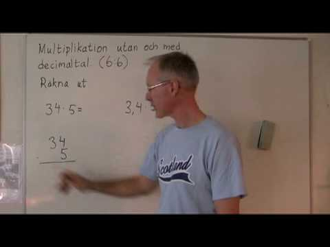 Multiplikation 6.06 part 2