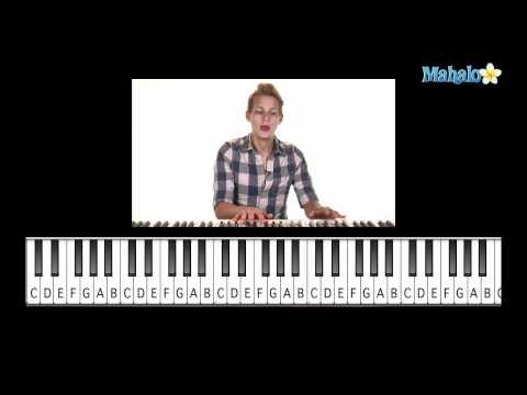 "How to Play ""SpongeBob SquarePants"" Theme Song on Piano"