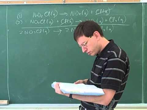 Chemical kinetics. Reaction mechanisms (4)
