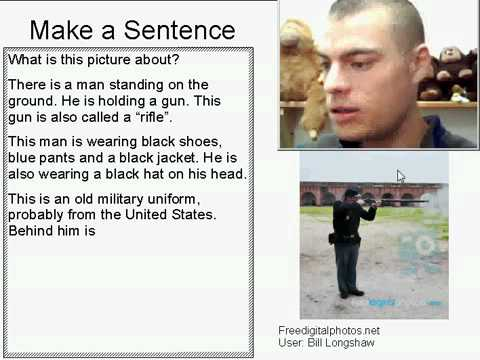 Learn English Make a Sentence and Pronunciation Lesson 4: Gunshot