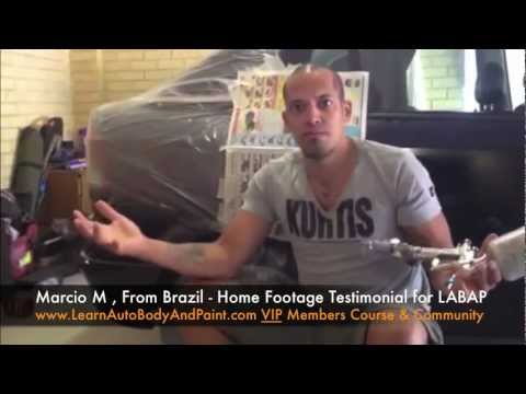 Learn Auto Body And Paint Testimonial - Marcio M From Brazil a VIP Member