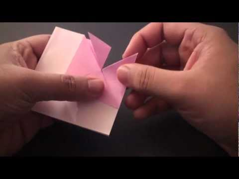Origami Daily - 154: Message Heart (Valentine's Day) TCGames [HD]