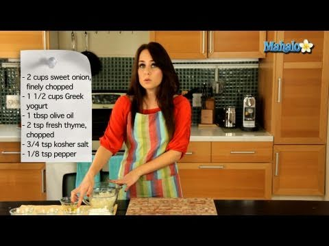 How to Make Sweet Onion Dip
