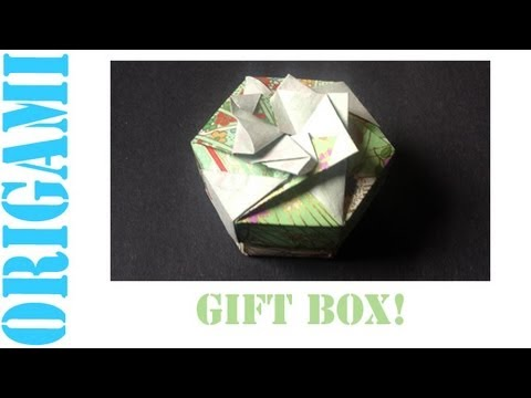 Origami Daily - 323: 2 Piece Hexagon Box Lid Ver. 3 - TCGames [HD]