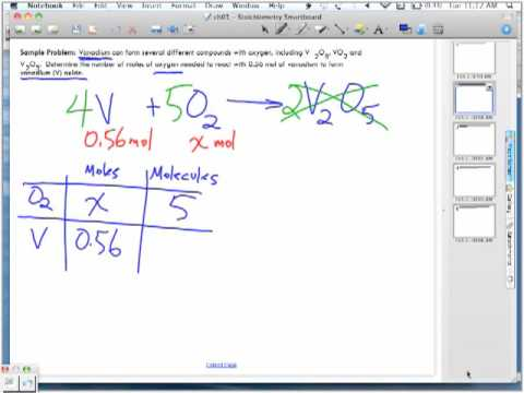 Stoichiometry Sample Problems Part 2