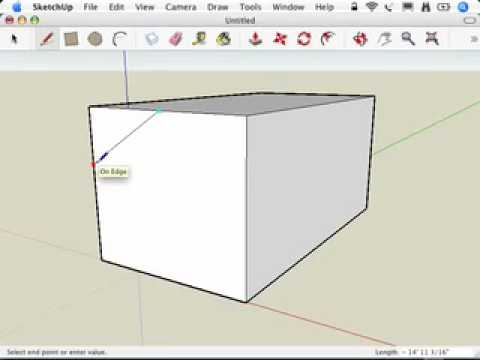 SketchUp: Making a quick model