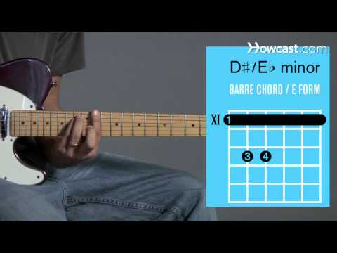 How to Play Guitar: Beginners / Barre Chords: E Flat/D Sharp Minor