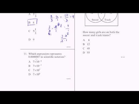 CAHSEE Practice: Problems 10-12