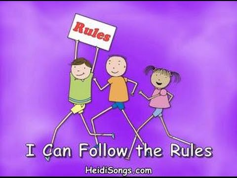 Music for Classroom Management - I Can Follow the Rules song