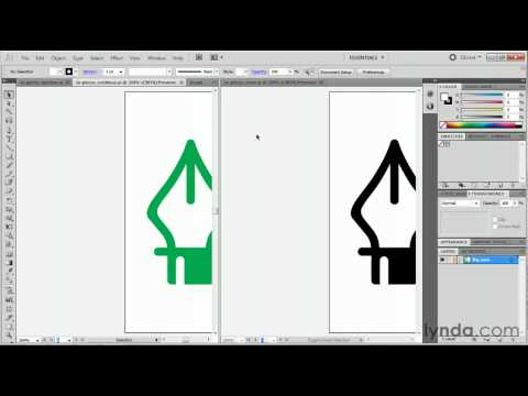 Illustrator: Using the tabbed-window interface | lynda.com tutorial