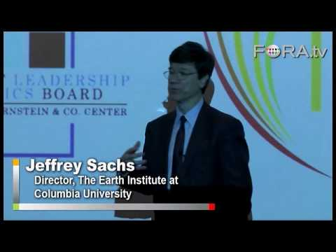 Greenspan's Fed to Blame for Crisis? - Jeffrey Sachs