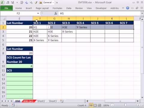 Excel Magic Trick 898: Lookup Row of Data and Display Items Vertically: INDEX INDEX Lookup Formula